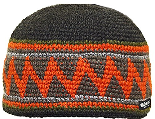 Everest Designs Shockwave Beanie, Green, One Size