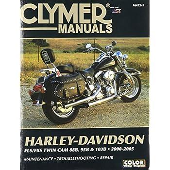 amazon com clymer repair manual for harley flh flt twin cam 88 99 rh amazon com Harley-Davidson Police Motorcycles 2014 FLHP Quantico HD Of