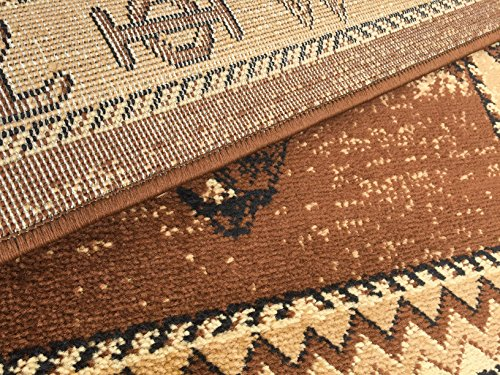 Rugs 4 Less Collection Cowboy Horse Western Cabin Style Lodge Door Mat Area Rug Design R4L 370 (2'X3')