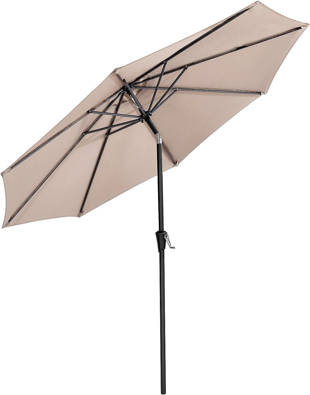 9kg Terrace Outdoor Accessories Patio Wall Adjustable Coupler Garden Umbrella Stand Balcony Half Round Parasol Base
