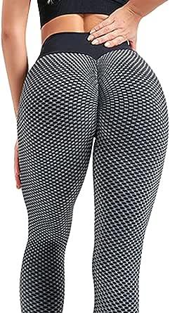 Green Planet TikTok Yoga Pants, Women's High Waisted Workout Leggings Butt Lifting