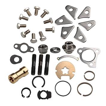 carbole KKK K03 turbocompresor turbo de batería completo de juntas y reparación/Kit de reconstrucción: Amazon.es: Coche y moto