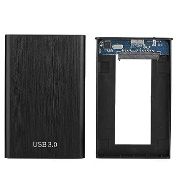 ASHATA Recinto SSD Externo Carcasa Box USB 3.0 HDD Caja ...