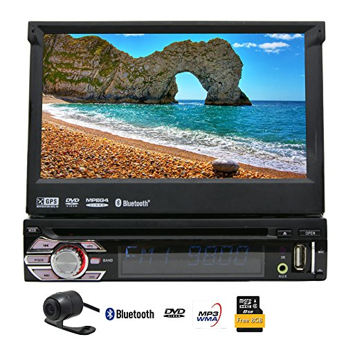 EinCar 7'' Touch Screen Car Stereo with GPS Navigation In Da