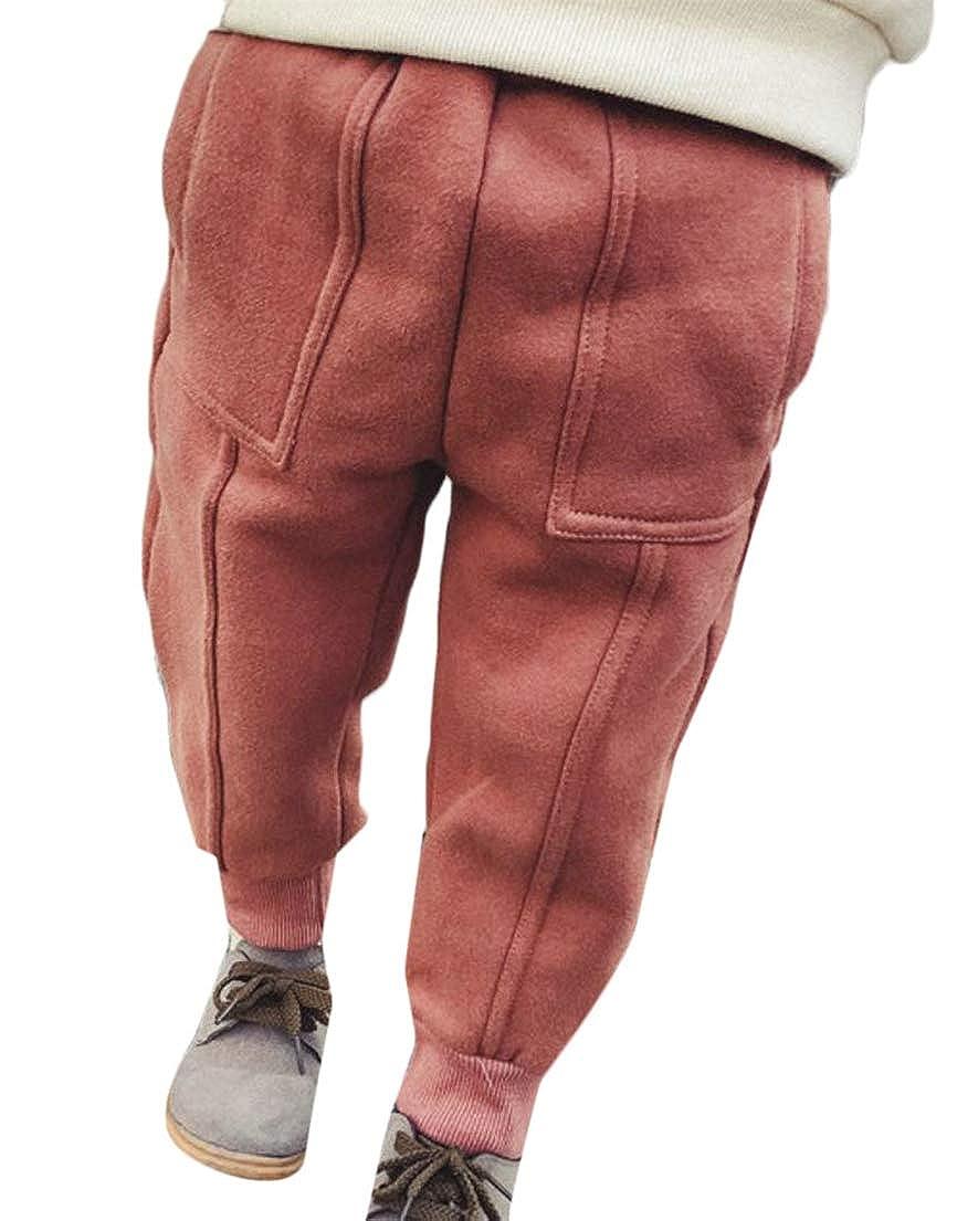 Wofupowga Girls and Boys Activewear Vogue Trousers Harem Kids Pants