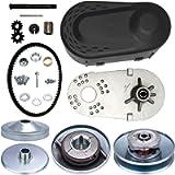 CalmMax Go Kart Torque Converter Clutch Set 3/4' 10T #40 41 420 and 12T #35 Chain for Manco Comet TAV2 30-75 218353A…