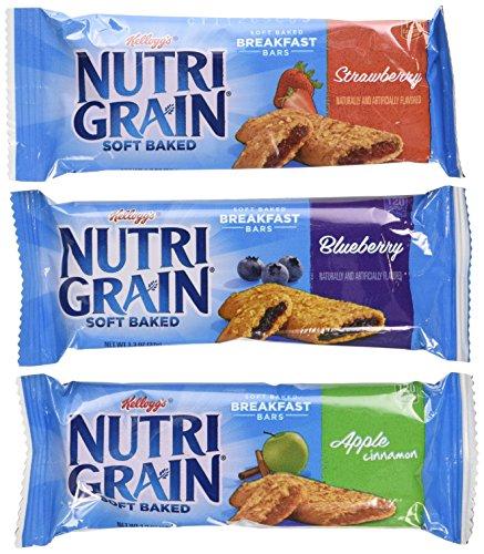 Nutri-Grain-Kellogg's Cereal Bars Variety Pack, 1.3 oz, ()