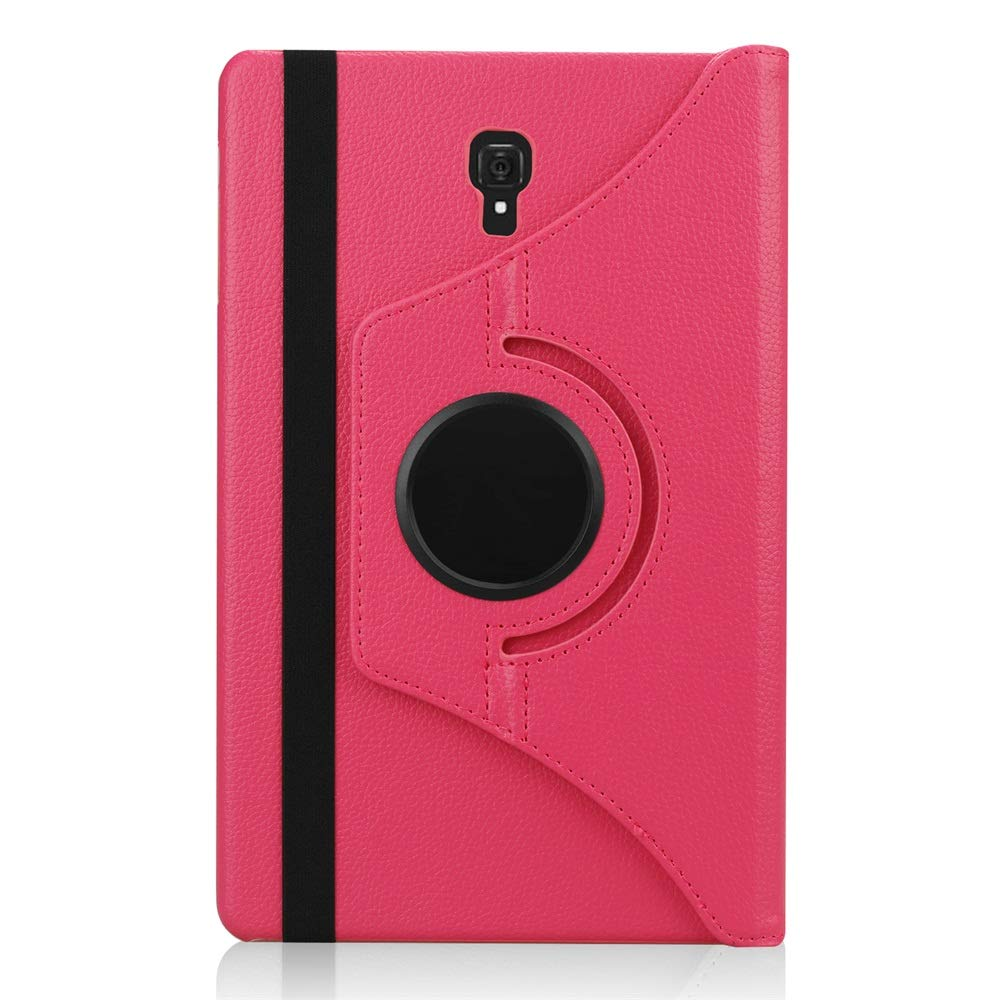 H/ülle f/ür Samsung Galaxy Tab A 10.5 2018 Schwarz 360 Grad Rotations Lederh/ülle Schutzh/ülle Cover Case Tasche mit Auto Schlaf//Wach Funktion f/ür Galaxy Tab A 10,5 Zoll SM-T590//T595 2018 Tablet-PC