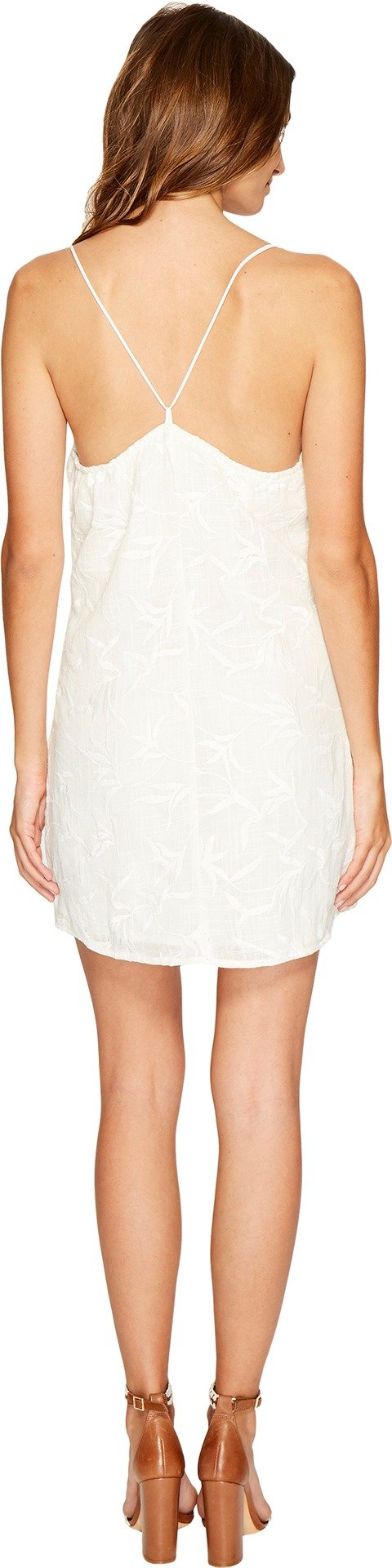 New Lucy Love Women's Feels Good Dress Rayon White