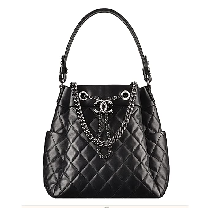a16412e9f8d7 Image Unavailable. Image not available for. Colour: Chanel Drawstring Bag  ...