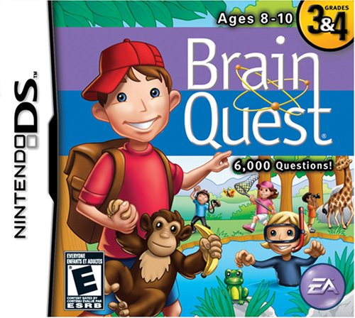 Brain Quest Card Deck (Brain Quest: Grades 3 & 4 - Nintendo DS)