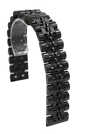 20mm Acero Inoxidable liberación rápida cadena Correa de reloj banda reemplazo pulsera para Samsung Gear S2 Classic / Pebble Time Round / Moto 360 ...