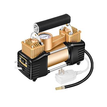 ZXW-Car air Pump Household 220v Double Cylinder Air Pump, Car Tire Inflator,