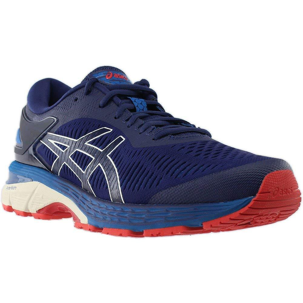 Indigo bluee White ASICS Men's Gel-Cumulus 20 Running shoes 1011A008