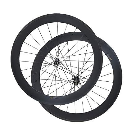 LOLTRA D411SB D412SB CN424 - Juego de Ruedas para Bicicleta (Freno de Disco de 6