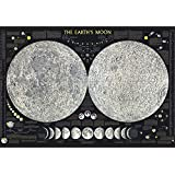 Bien 1000piece Jigsaw Puzzle The Earth`s Moon