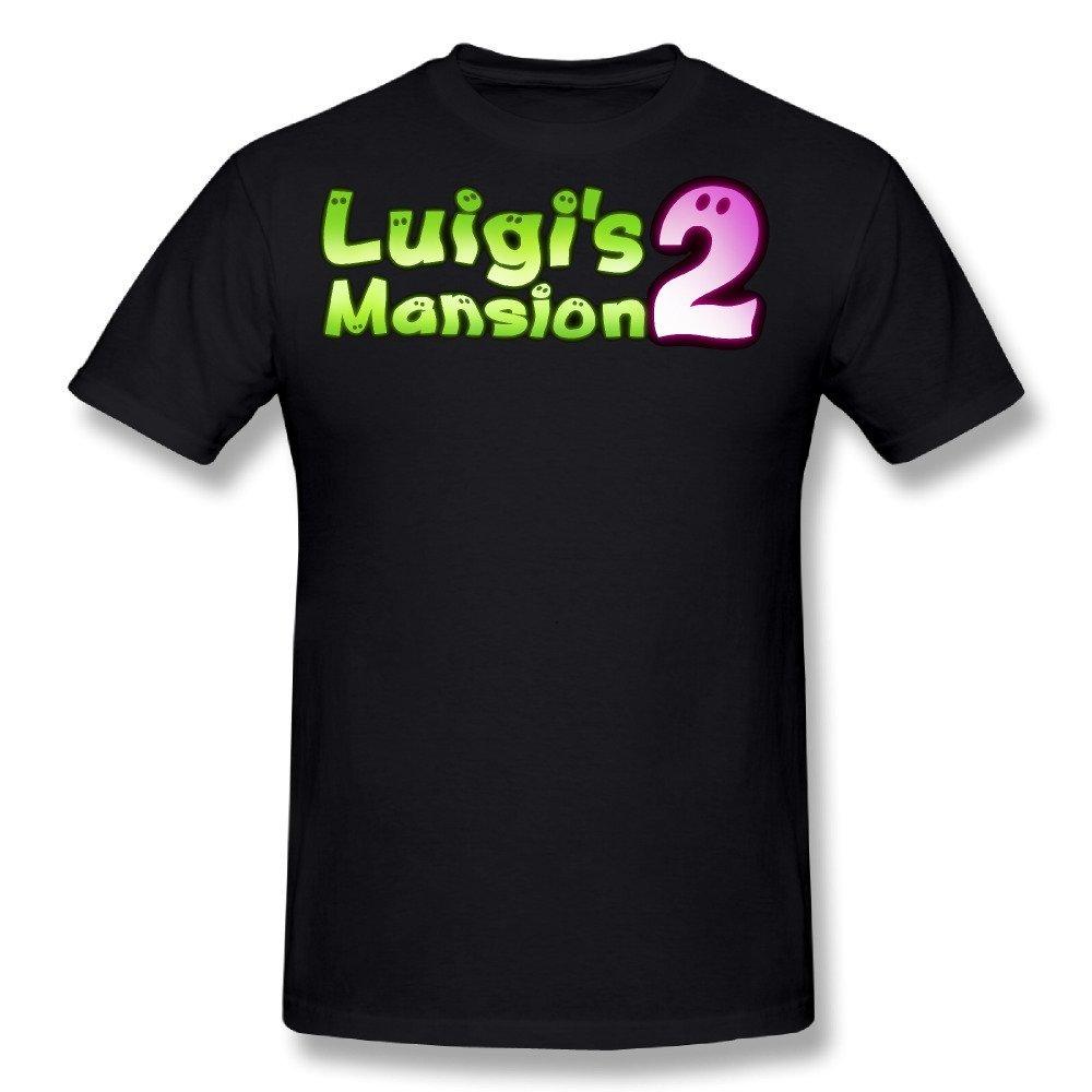 Amazon Com Tongda Men S Luigi S Mansion Dark Moon Game Logo