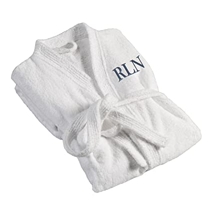 c29a55aa4d Amazon.com  Personalized Men s Bath Robe - Monogrammed Men s Bath Robe - Custom  Men s Bath Robe  Home   Kitchen
