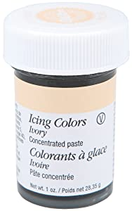 Wilton Icing Colors, 1-Ounce, Ivory