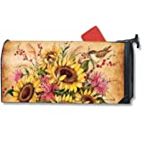 MailWraps Sunflower Mix Mailbox Cover #01197