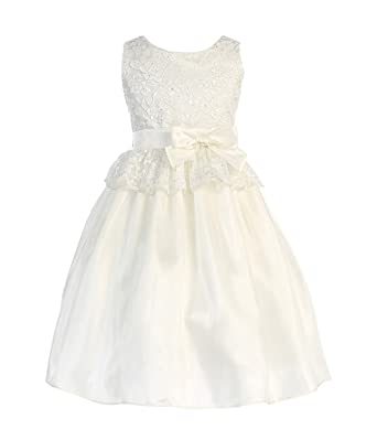 a00ccbc59b5 Amazon.com  Sweet Kids Pink Lace Easter Dress Toddler Little Girls ...