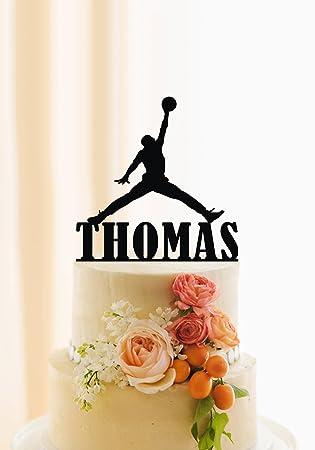 Qidushop Basketball Tortenaufsatz Fur Jungen Birthday Cake Topper