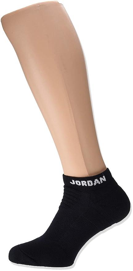 Nike Jordan Flight 2.0 Ankle Sock, Calcetines Cortos para Hombre, Nero 013, 42