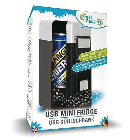 GreatGad s 3072 2 USB Minikühlschrank Schwarz Amazon