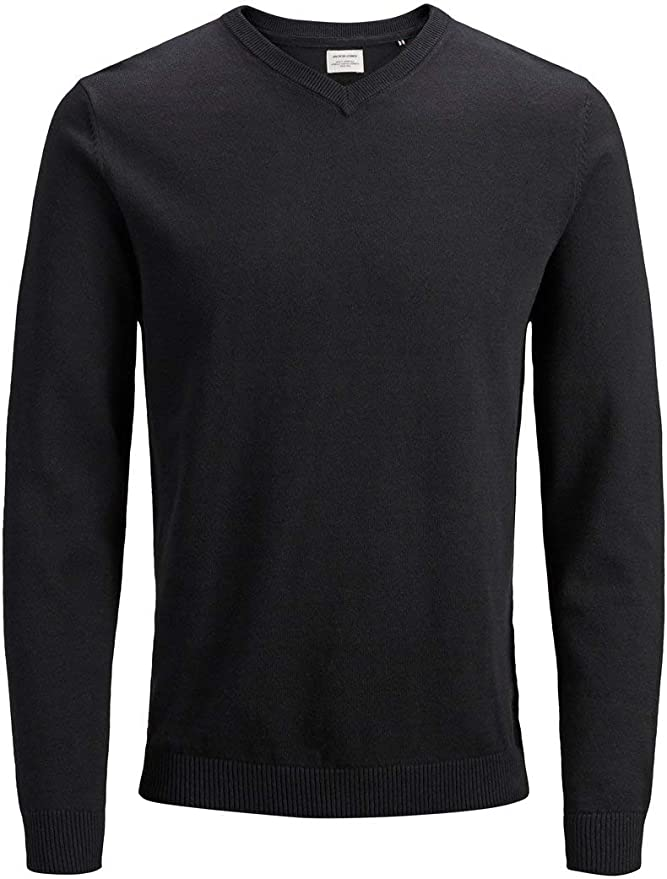 TALLA M. Jack & Jones Jjebasic Knit V-Neck Noos suéter para Hombre