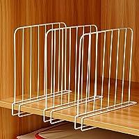 Clothing & Wardrobe Storage Yogamada TIANSE TS-1306 4 Section Divider File Rack Office Desktop Storage Bookshelf