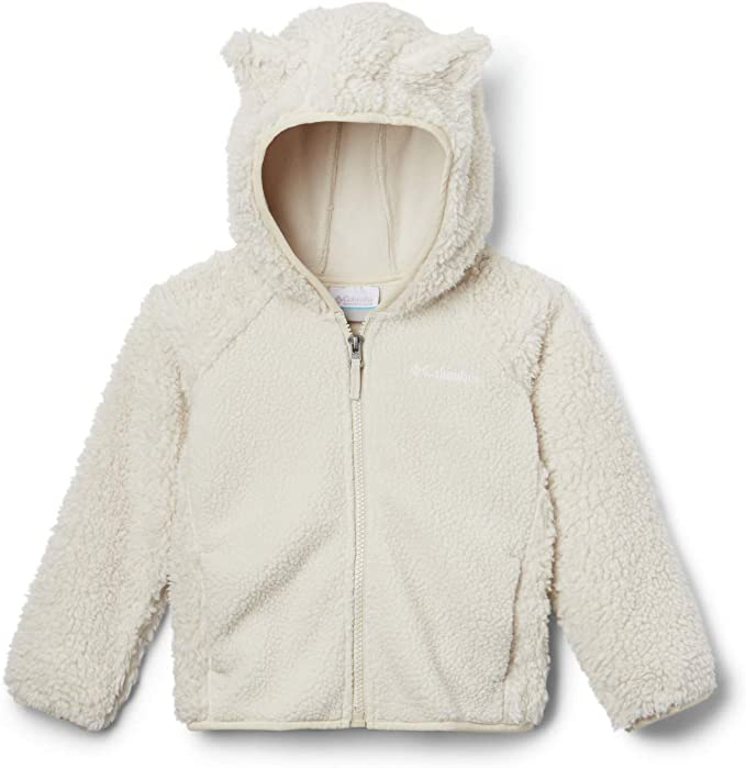 Columbia Infant Foxy Baby Sherpa Full Zip, Warm & Cozy, Winter Jacket