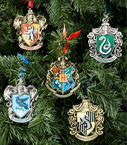 The Noble Collection Harry Potter's Hogwarts Tree Ornament (Christmas Ornament Collection)