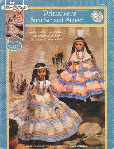 Princesses Sunrise and Sunset (Fibre-Craft, FCM407) -