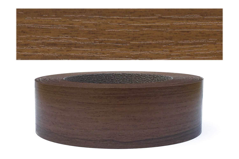 Cantoneras laminadas melamina para rebordes con Greve Nogal 45 mm 10m rollo Mprofi MT/®