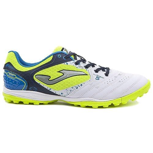 Joma Sport - Zapatillas de fútbol Sala de Sintético para Hombre Blanco Bianco: Amazon.es: Zapatos y complementos