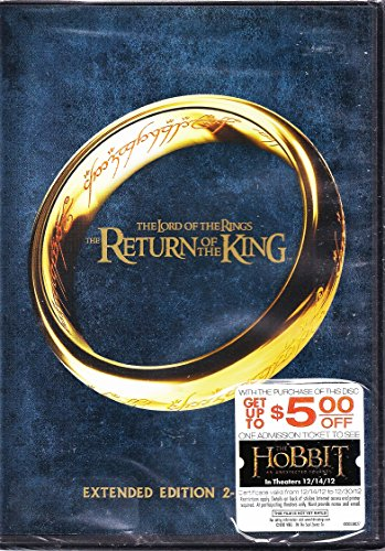 Lord of the Rings Return of the King 2 Disc Extended DVD (Lotr Return Of The King Extended Edition)