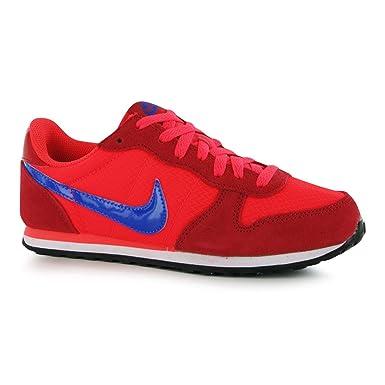 best loved 03e6b 26928 Nike Gennico Baskets pour Femme Rouge Bleu décontracté Mode Sneakers  Chaussures, Rouge Bleu  Amazon.fr  Vêtements et accessoires