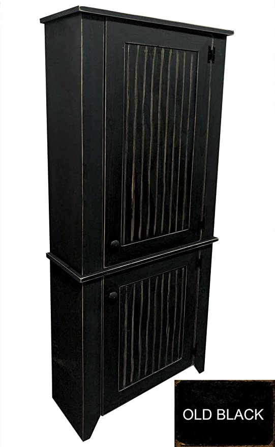 Sawdust City Kitchen Hutch (Old Black)
