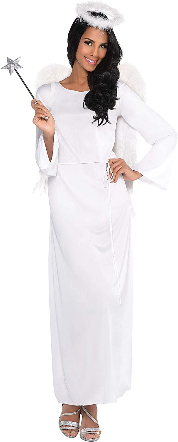 AMSCAN Heaven Sent Angel Halloween Costume for Women, Standard, with Included Accessories