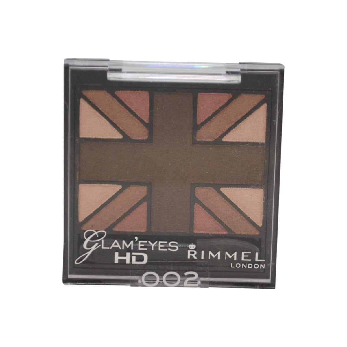 Glam'Eyes HD Quad Eyeshadow Palette - English Oak by Rimmel #13