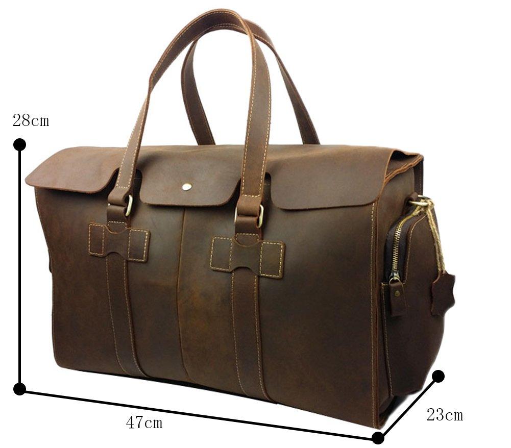 Genda 2Archer Vintage Travel Duffel Bag Boarding Luggage Carry On Gifts for Men by Genda 2Archer (Image #2)