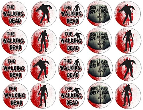 20 The Walking Dead ~ Cupcake Topper ~ Edible Frosting Image -