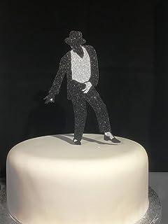 75 Michael Jackson Edible Icing Birthday Cake Topper Amazoncouk