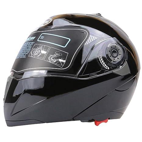 f098b7f8 Zorbes Full Face Motorcycle Helmet Dual Visor Street Bike with Transparent  Shield: Amazon.in: Car & Motorbike
