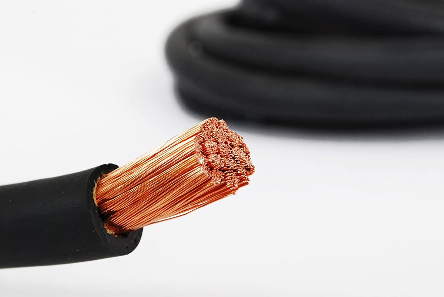 RED MADE IN USA 1 Gauge AWG Welding Lead /& Car Battery Cable Copper Wire BLACK TEMCo WC0251-20 10 Blk, 10 Red