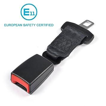 Amazon.com: E11 Safety Certified Car Seat Belt Extender MCARCAR KIT ...