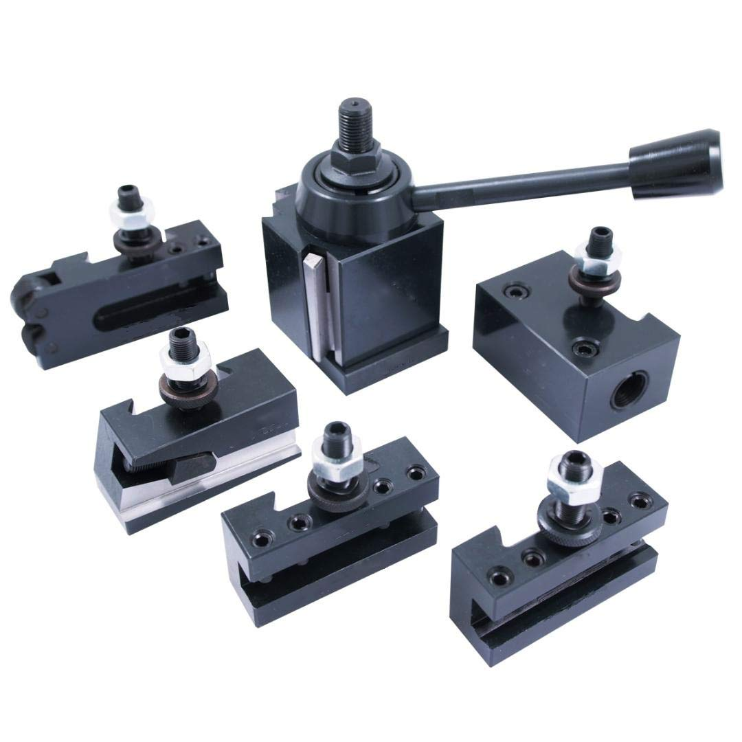 HHIP 3900-5100 Mini Quick Change Tool Post and Holder Set