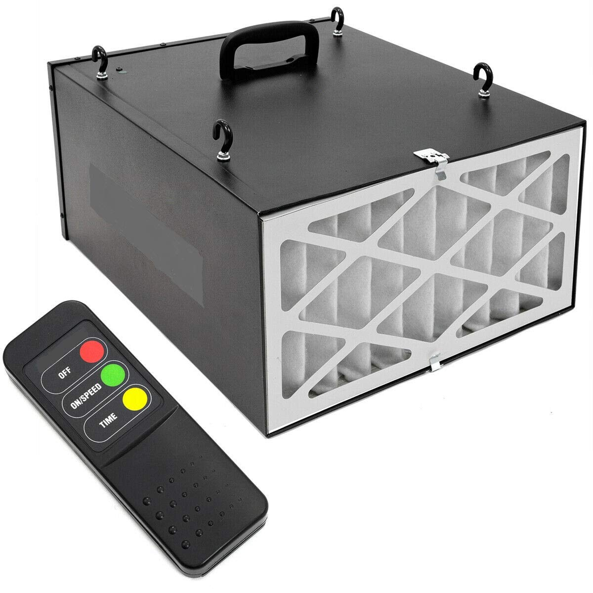 9TRADING Industrial 3-Speed Remote-Controlled Industrial-Strength Air Filtration System