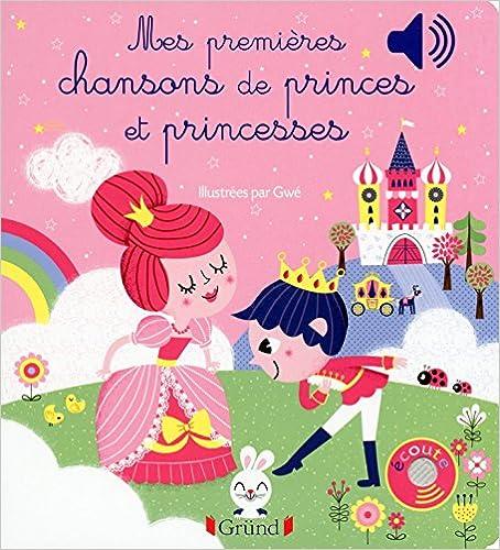 Amazon Com Mes Premieres Chansons De Princes Et Princesses