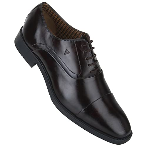 6c6b1dd13a Van Heusen Mens Leather Lace Up Shoes  Buy Online at Low Prices in India -  Amazon.in